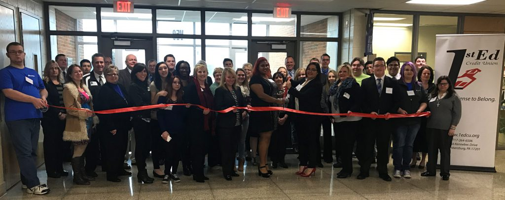 1st Ed CareerTech Student Branch Ribbon Cutting 1