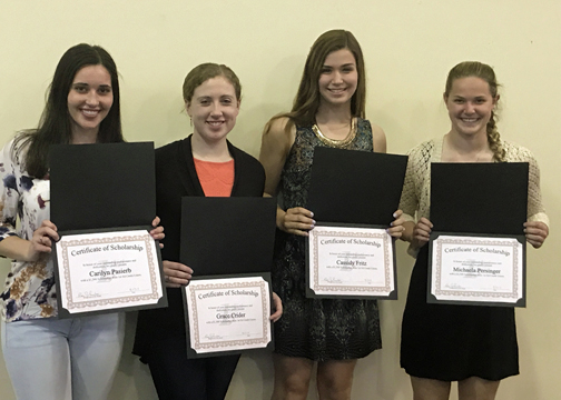 2017 annual meeting - scholarship recipients