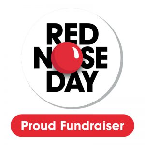 Red Nose Day Logo - Proud Fundraiser