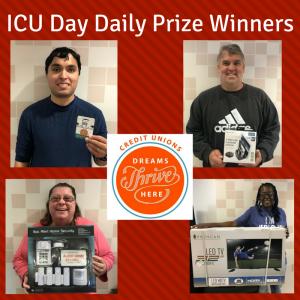 ICU Day Daily Prize Winners