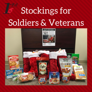 stockings for soldiers & veterans donation photo