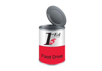 1st Ed Food Drive Can Image