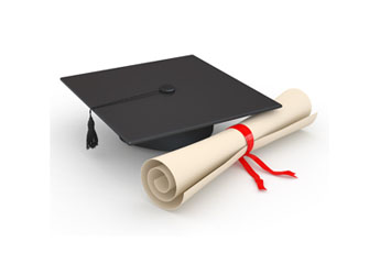 featured image - graduation cap and degree certificate