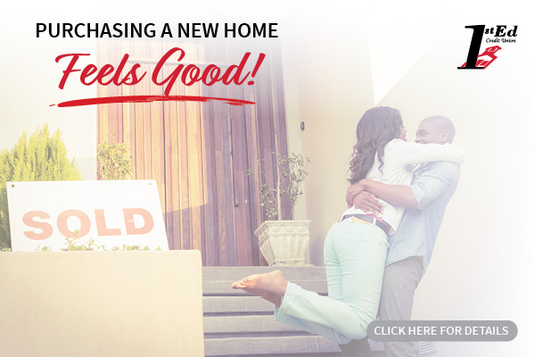 Purchasing a new home feels good! Click here for details.